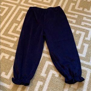 Little English navy blue corduroy pants size 2t